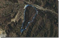 Running Bommer Ridge-El Moro 4-11-2010