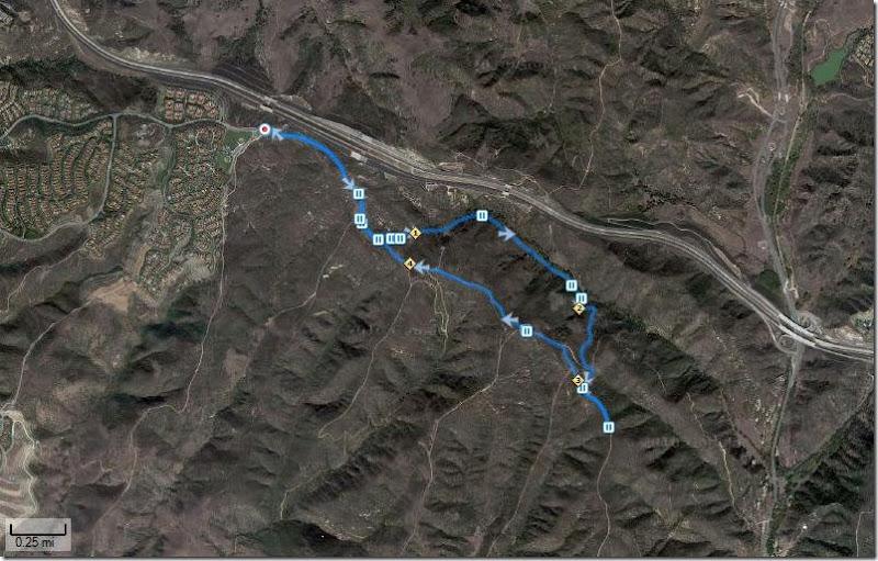 Running Bommer Ridge-El Moro 9-23-2010