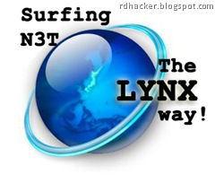 LYNX - Surfing Internet the Old School way - rdhacker.blogspot.com