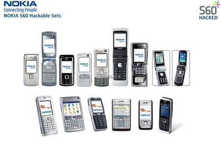 The Series 60 N Series, E Series and some more phones can Be hacked - rdhacker.blogspot.com