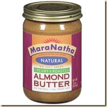 raw almonds butter