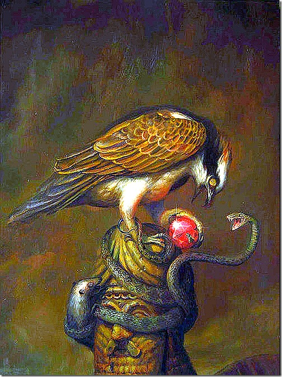 Martin Wittfooth - Obsession, oil on canvas