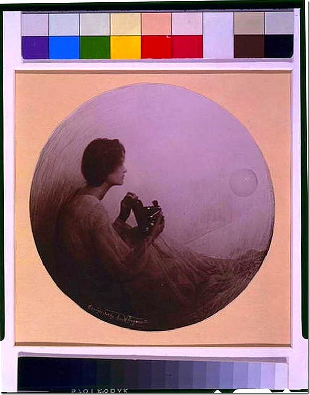 Anne Brigman ~Kodak [The spirit of photography]1908