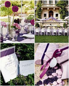Brides Baú de ideias: Casamento com lilás, roxo, violeta ou lavanda