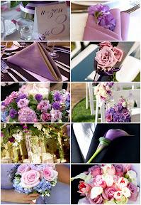 Wedding%20Channel Baú de ideias: Casamento com lilás, roxo, violeta ou lavanda