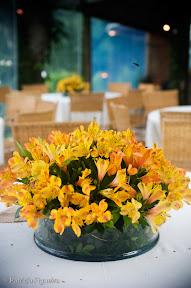 patfig clube das flores Baú de ideias: Decoração de casamento amarelo