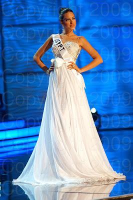 egito Miss Universo 2009: Inspirações para vestidos de madrinha e noiva