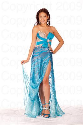 filipinas Miss Universo 2009: Inspirações para vestidos de madrinha e noiva