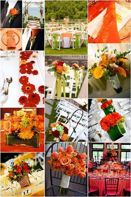 inspiration wc 2 Baú de ideias: Decoração de casamento laranja