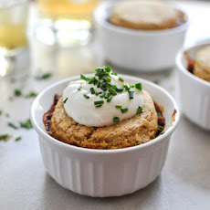 Three Bean Chili Pot Pies