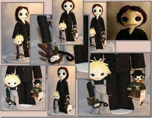 Alan Ryan Monkey Scarecrow Dolls