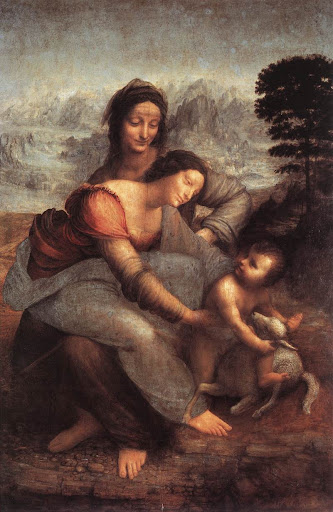 Leonardo Da Vinci: Djevica i Dijete sa sv. Anom