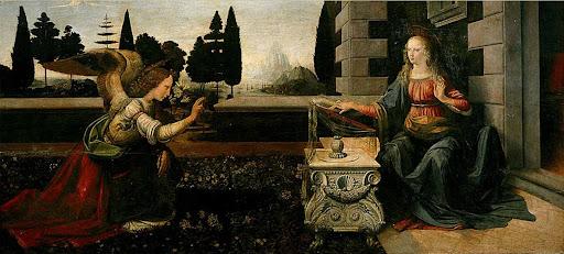 Leonardo da Vinci: Navještenje