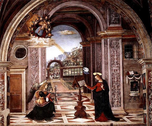 Pinturicchio: Navještenje