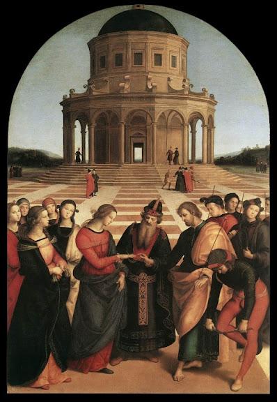Raphael Santi: Zaruke Djevice Marije