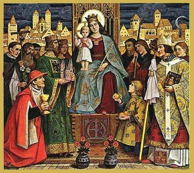 Marija i sveci