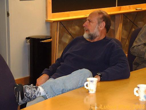 Lenny Susskind (c) L. Motl 2003