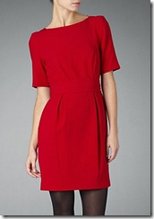 dvf red dress 6