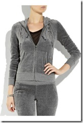 juicy couture anthracite tracksuit