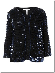 Matches sequin cardigan