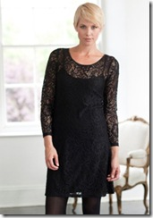 Karen Cole Black Lace Dress