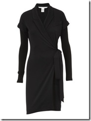sale black dress dvf 1