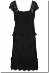 black dress lace dress