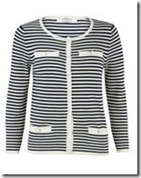 LK Bennett striped cardigan