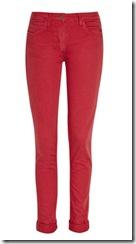 red capri pants