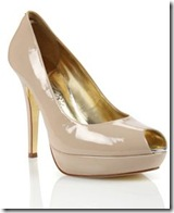 ted baker nude shoes