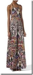 warehouse maxi dress