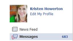 facebook email overload