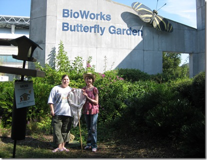 The BioWorks Butterfly Garden At The Museum Of Science U0026 Industry In Tampa  Contains Flowers And Host Plants That Attract Native Butterflies Of Florida.