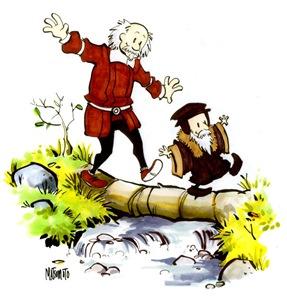Los originales Calvin y Hobbes