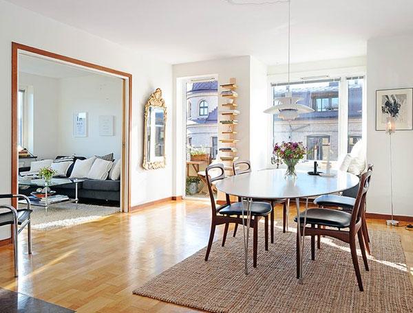Un piso lleno de luz decoraci n escandinava una mosca for Decoracion escandinava