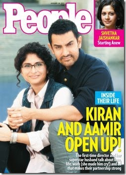 Aamir and Kiran