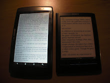 Archos 70 Internet Tablet vs Sony PRS-650
