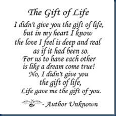 adoption gift of life