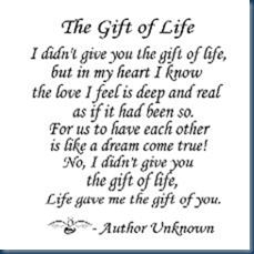 adoption gift of life