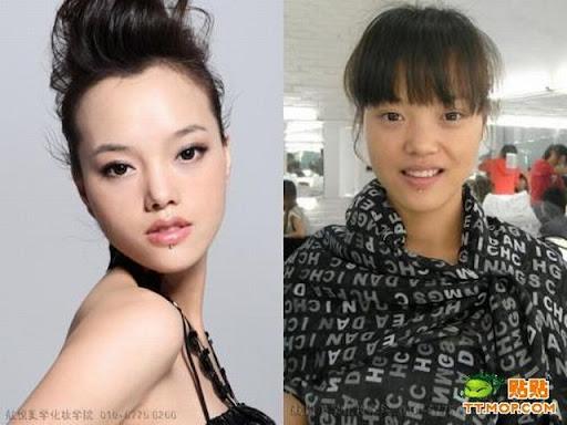 Foto : Kenapa Cewek Butuh waktu lama untuk Dandan, Make up