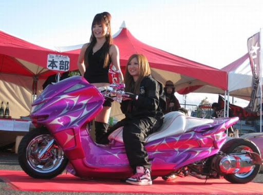 Modifikasi Motor ala Jap Style | Hot Foto Modifikasi Otomotif 30