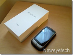 Packaging Nexus One