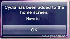 Cydia Installed