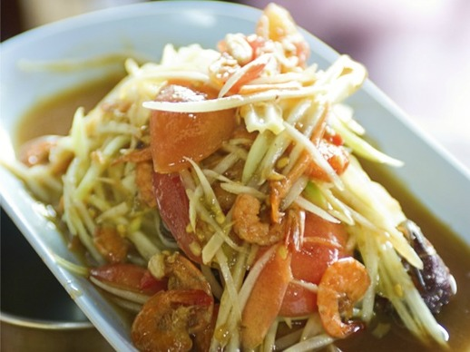 Bangkok Street Food's Green Papaya Salad