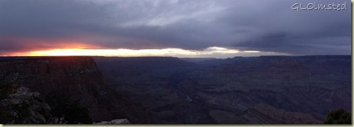 07 Sunset over canyon from Lippan Pt SR GRCA NP AZ pano (1024x361)