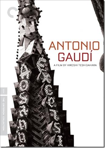 Antonio Gaudi - Criterion Collection - DVD Cover