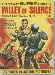 Fleetway Super Library - Frontline Series No.3 - Maddock's Marauders - Valley of Silence