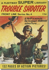 Fleetway Super Library - Frontline Series No.4 - Top Sergeant Ironside - Trouble Shooter