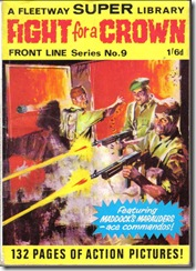 Fleetway Super Library - Frontline Series No.9 - Maddock's Marauders - Fight for A Crown