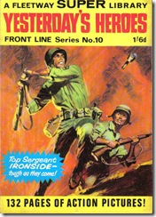 Fleetway Super Library - Frontline Series No.10 - Top Sergeant Ironside - Yesterday's Heroes